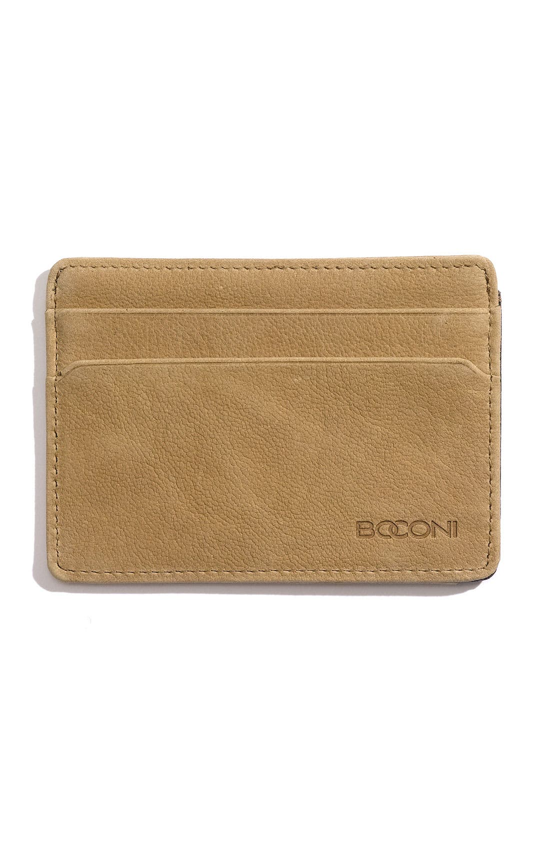 Alternate Image 1 Selected - Boconi 'Leon' Leather Credit Card Case