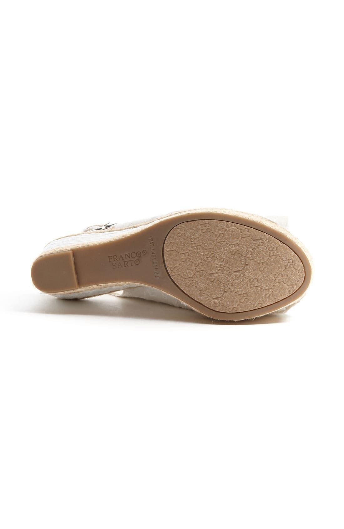 Alternate Image 4  - Franco Sarto 'Olympia' Espadrille Sandal