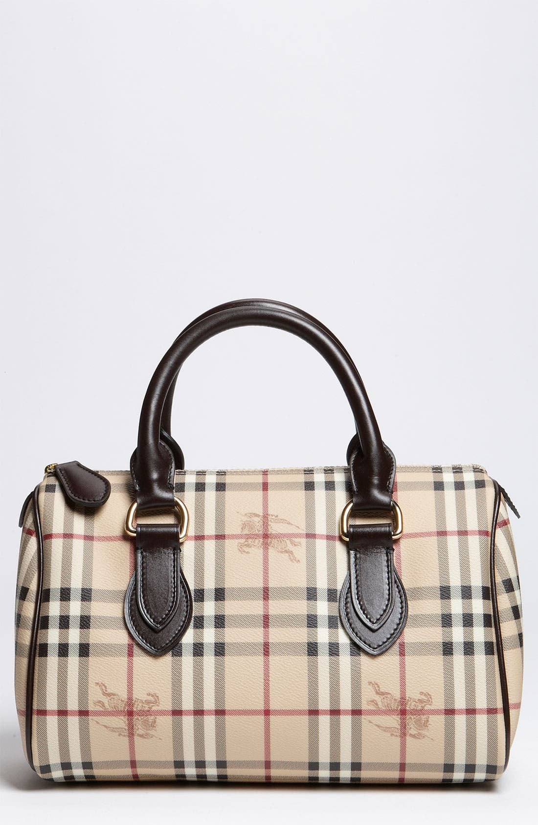 Main Image - Burberry 'Haymarket Check' Satchel