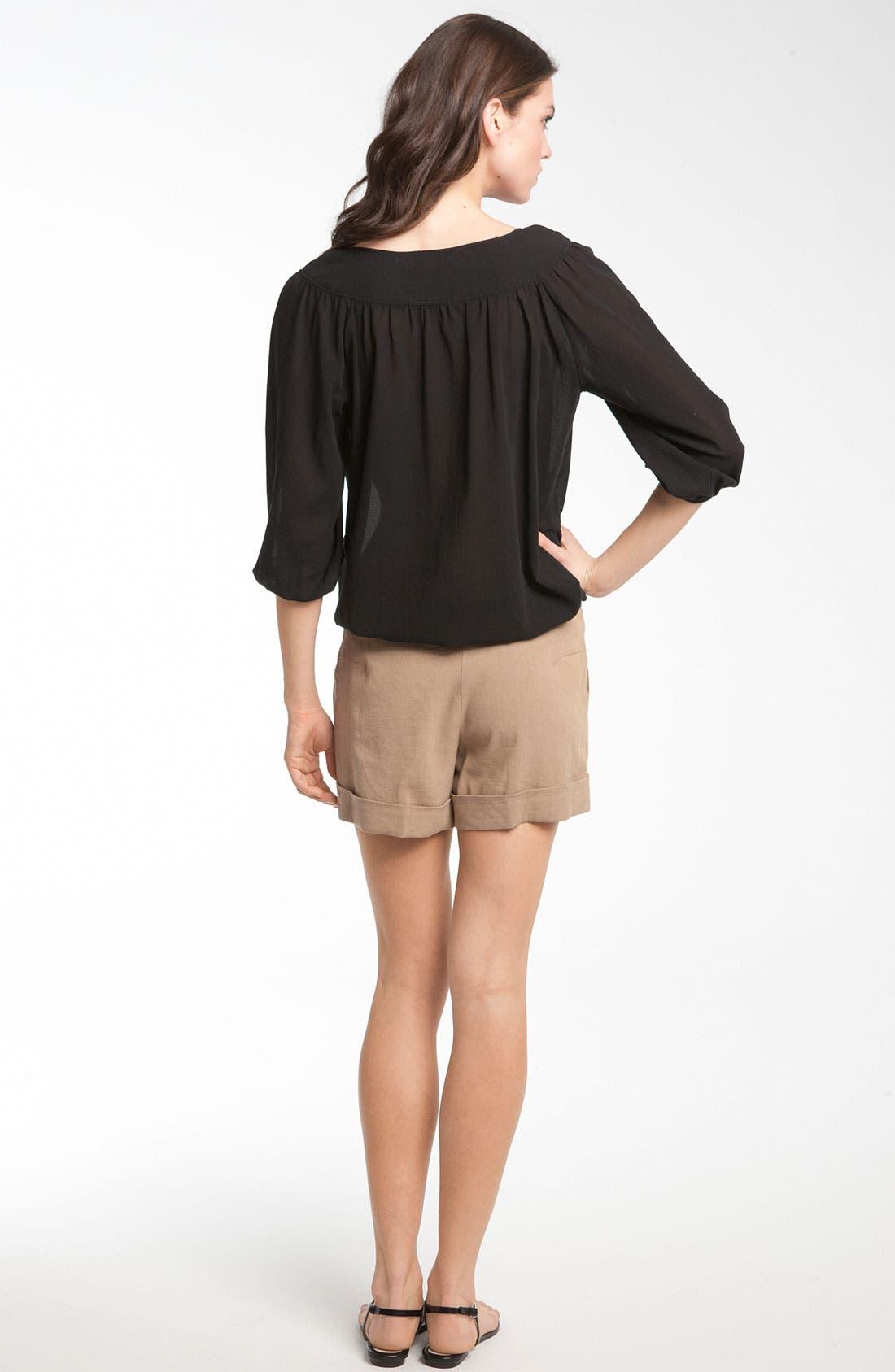 Alternate Image 4  - Trina Turk 'Alto Cinco' Cuff Shorts