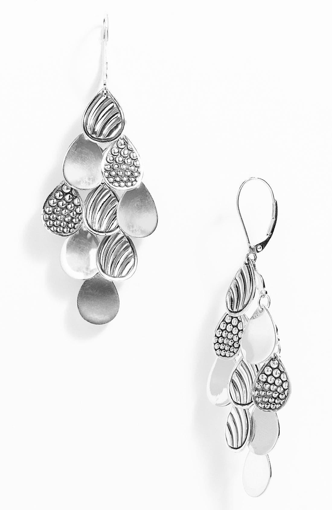 Alternate Image 1 Selected - LAGOS Multi Surface Teardrop Earrings