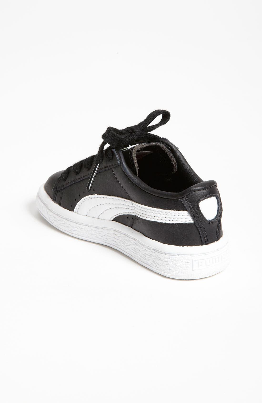 Alternate Image 2  - PUMA 'Clyde' Sneaker (Baby, Walker & Toddler)