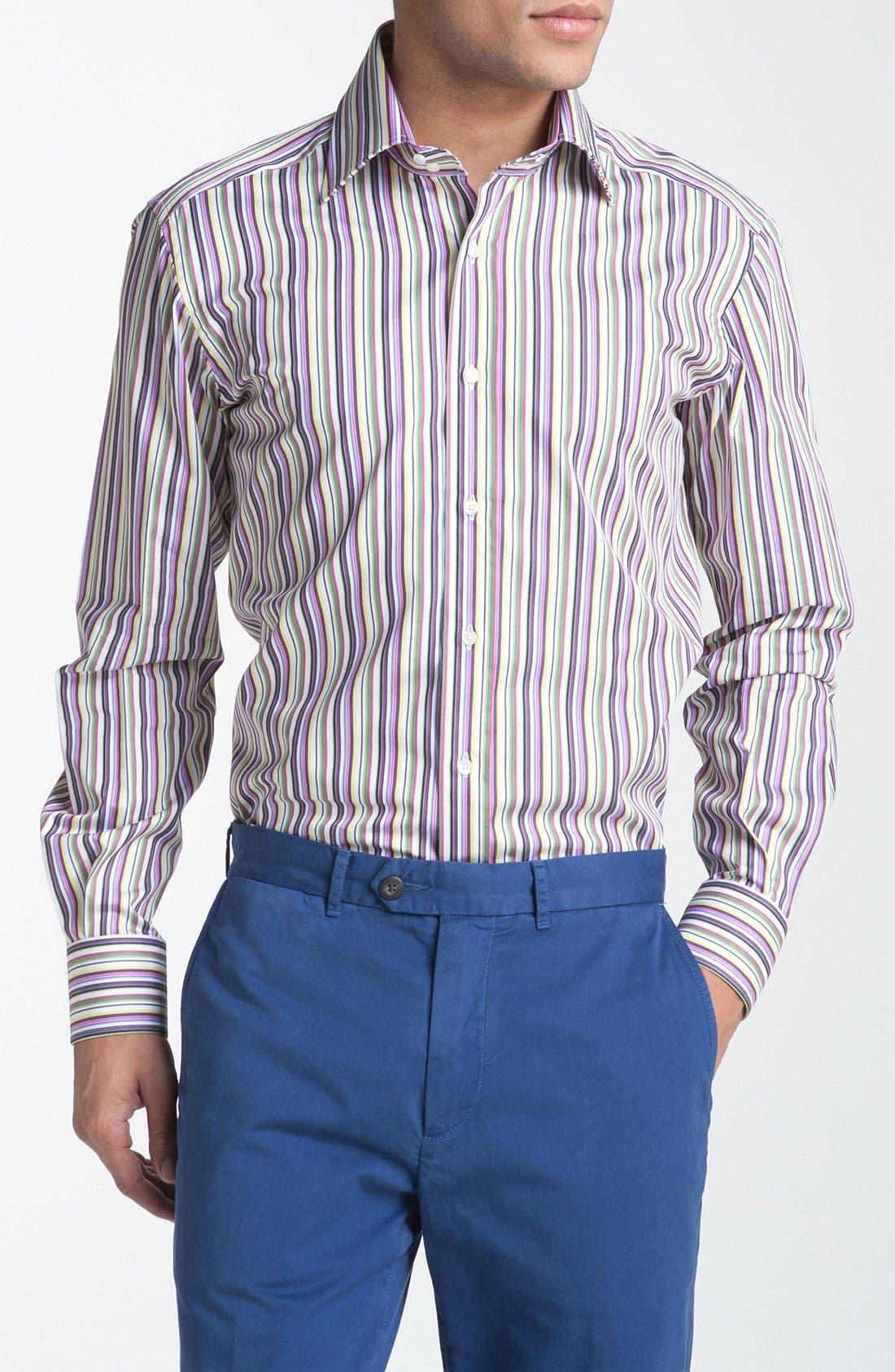 Alternate Image 1 Selected - Etro Stripe Woven Dress Shirt