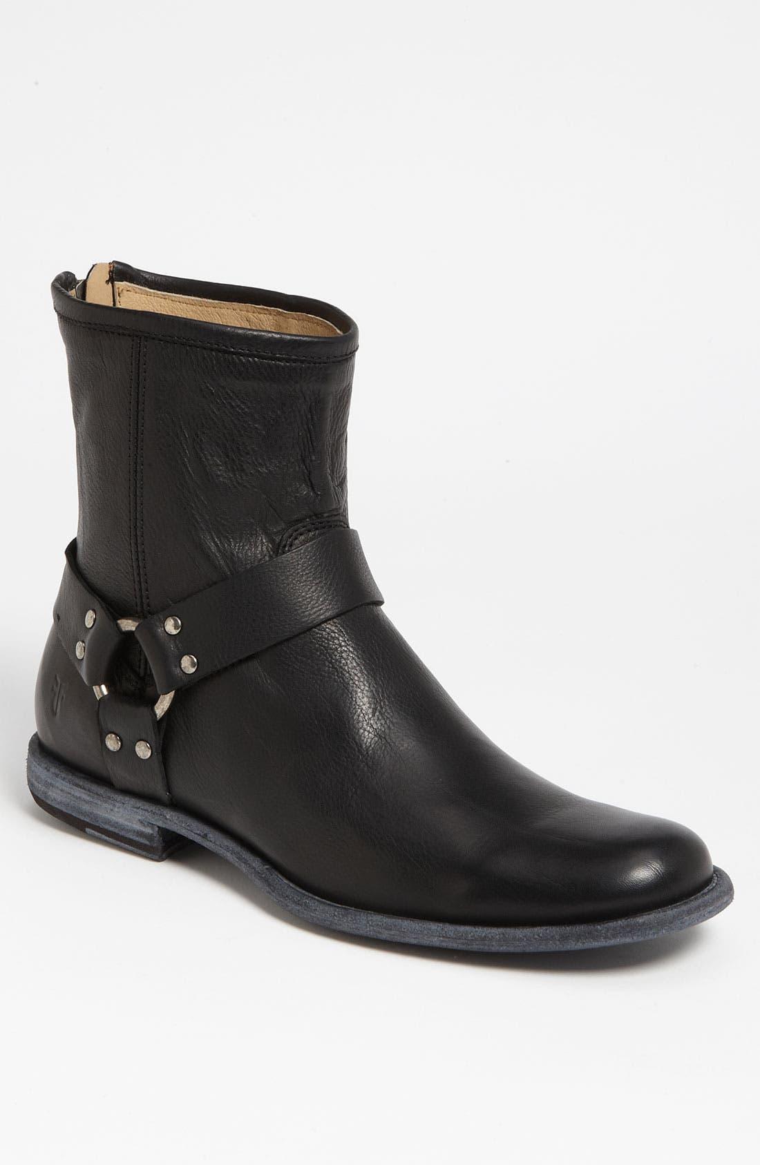 Alternate Image 1 Selected - Frye 'Phillip' Harness Boot (Men)