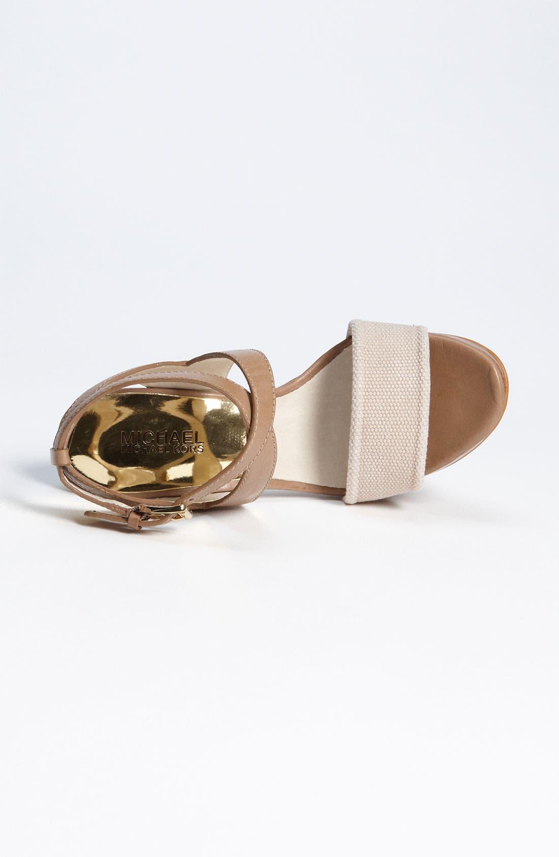 Alternate Image 3  - MICHAEL Michael Kors 'Nadina' Sandal