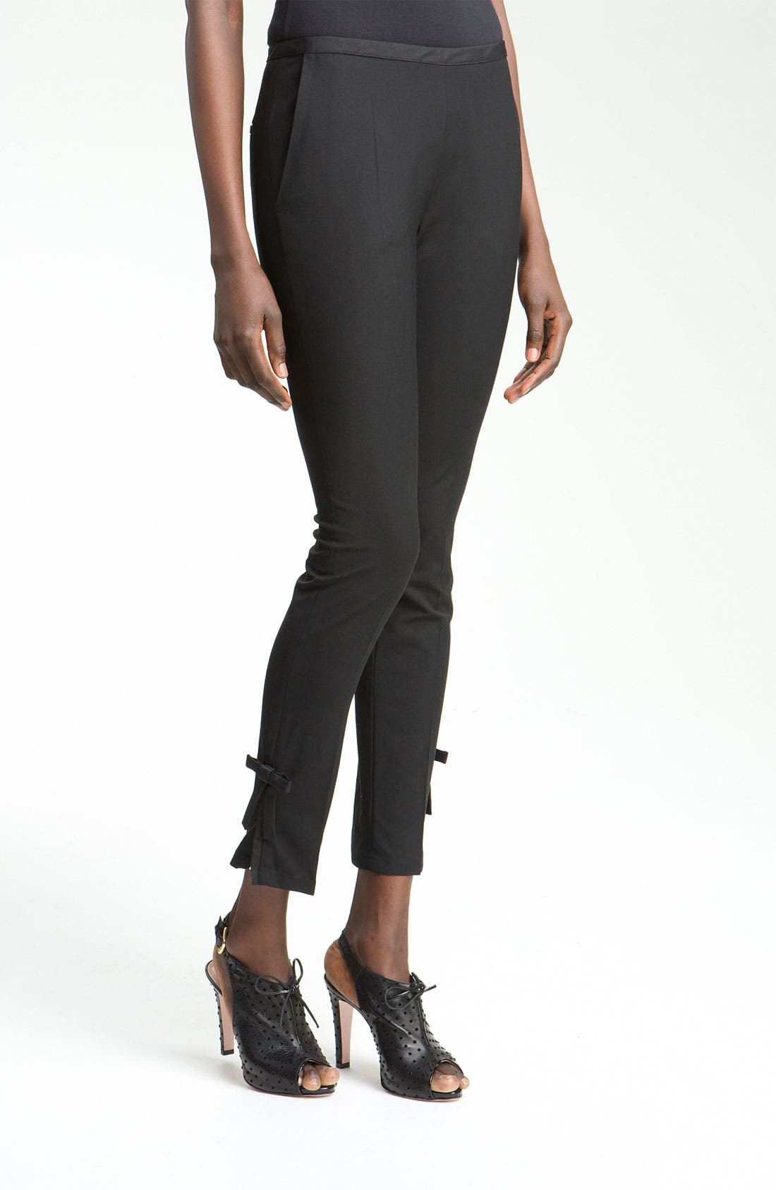 Alternate Image 1 Selected - RED Valentino Slim Ankle Length Pants