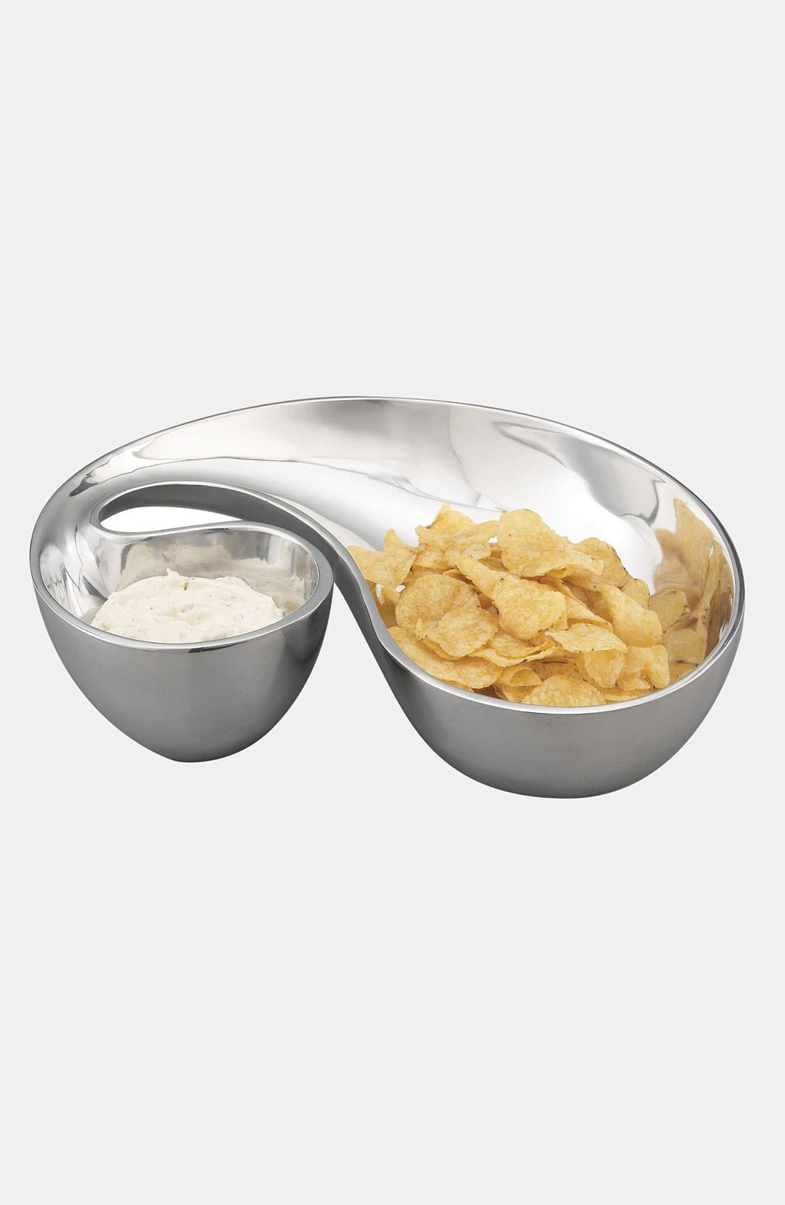 Alternate Image 2  - Nambé 'Morphik' Chip & Dip Dish