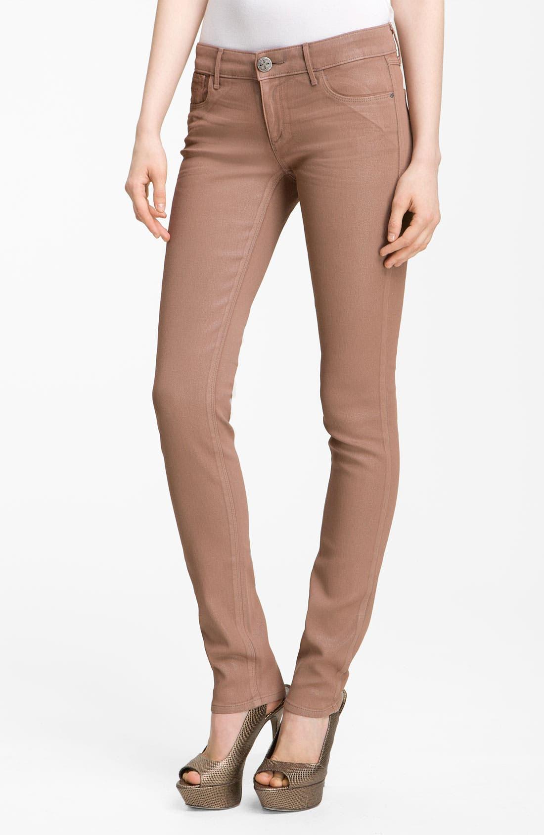 Main Image - Habitual 'Alice' Coated Skinny Stretch Jeans