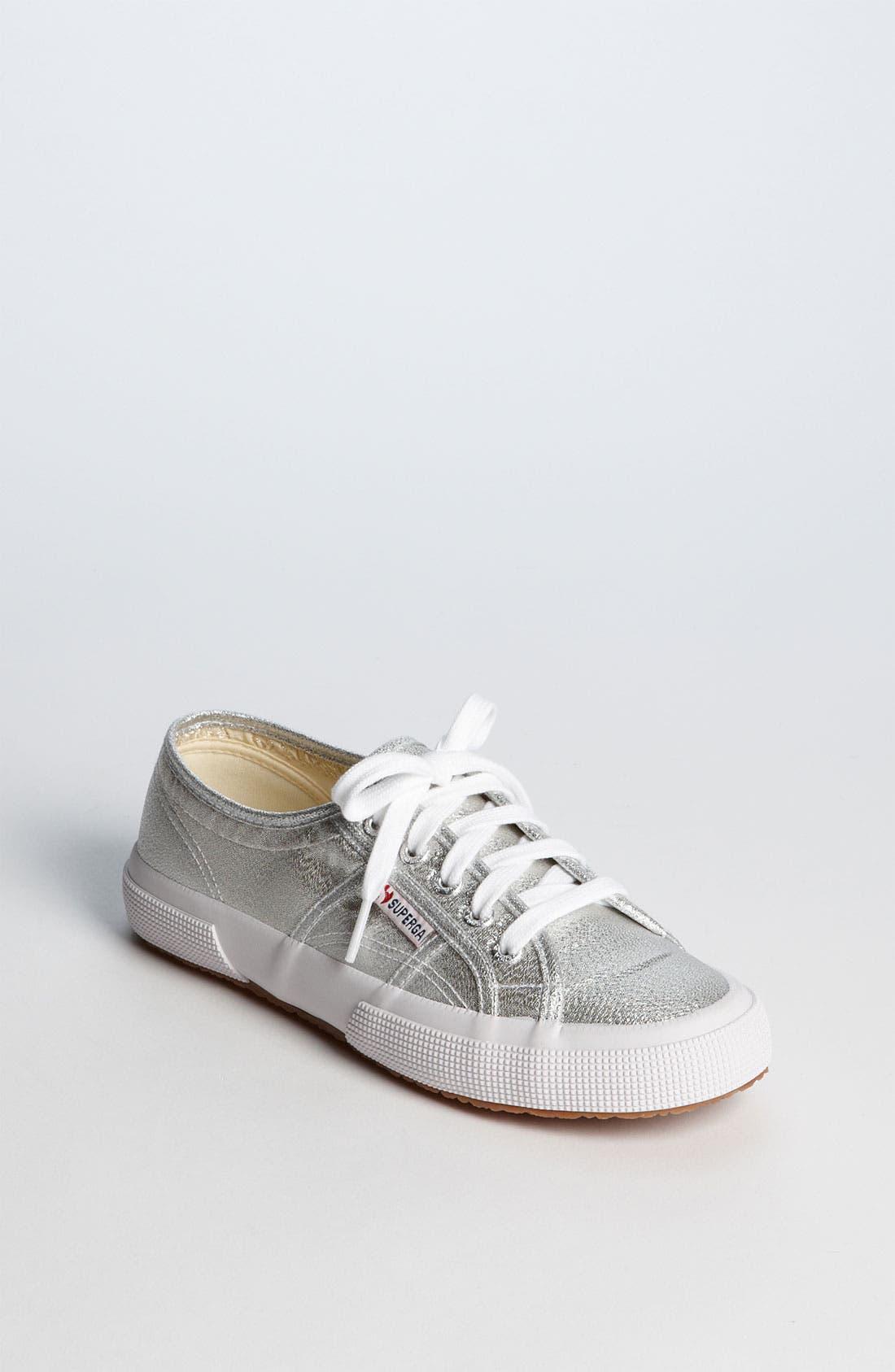 Alternate Image 1 Selected - Superga 'Lamé' Sneaker