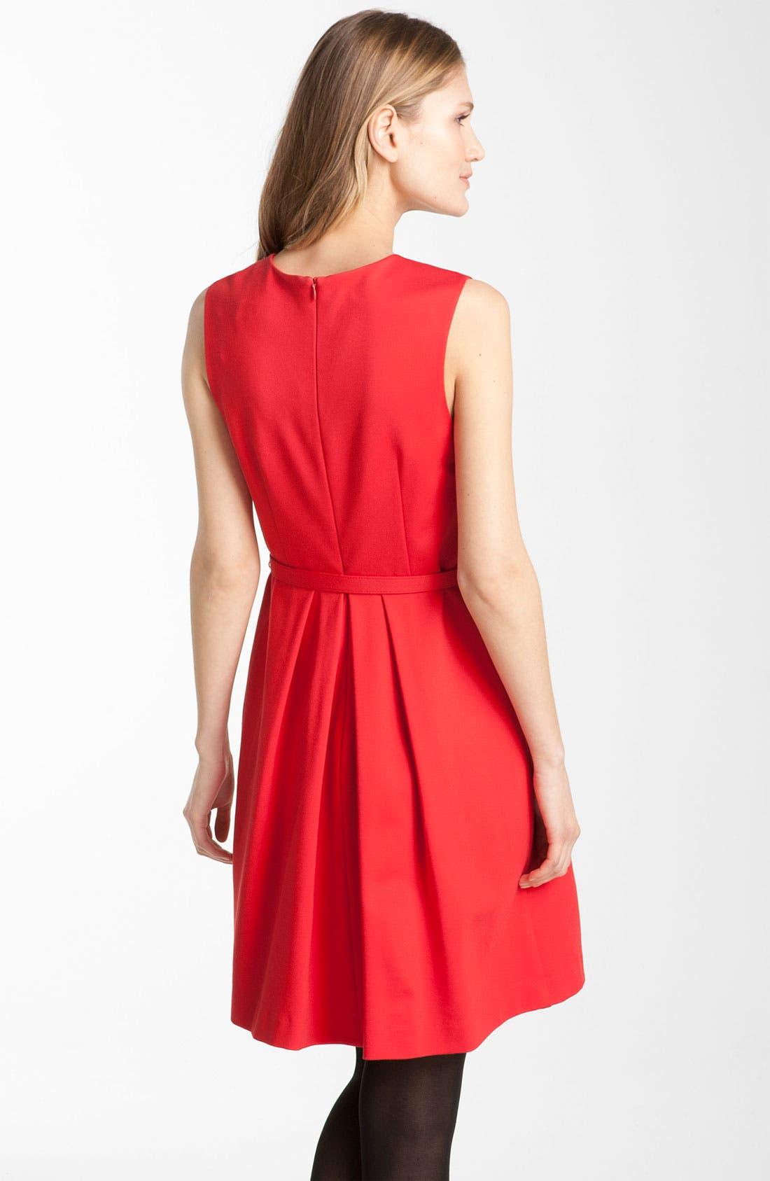 Alternate Image 2  - Trina Turk 'Princess' Ponte Knit Dress