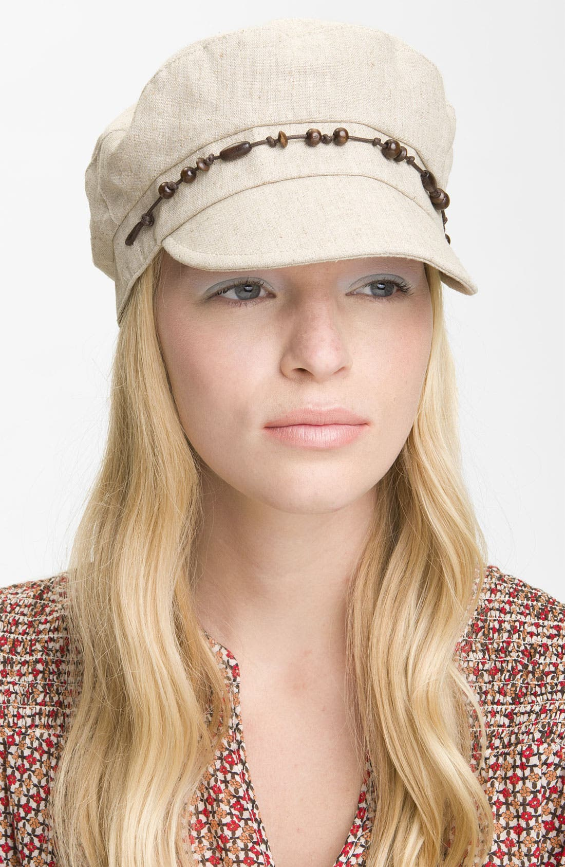 Main Image - August Hat Beaded Cap