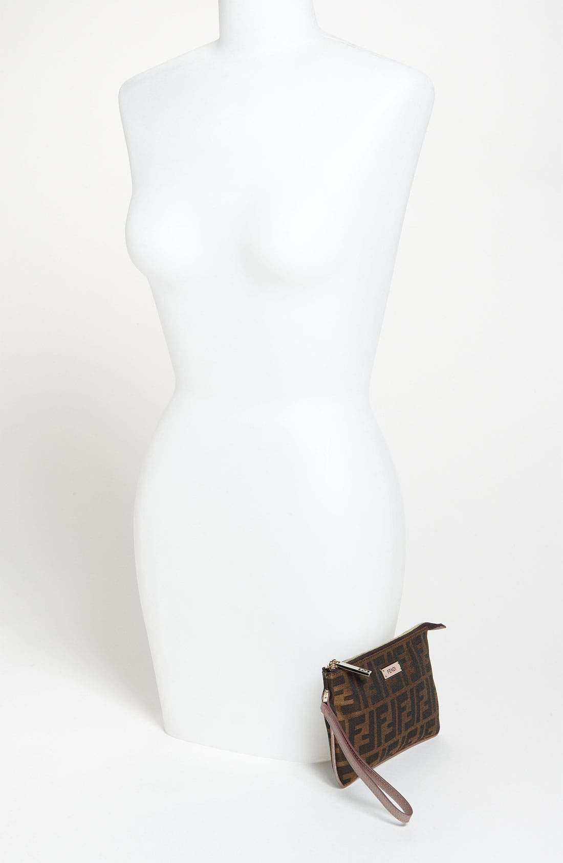 Alternate Image 2  - Fendi 'Zucca' Fabric Wristlet