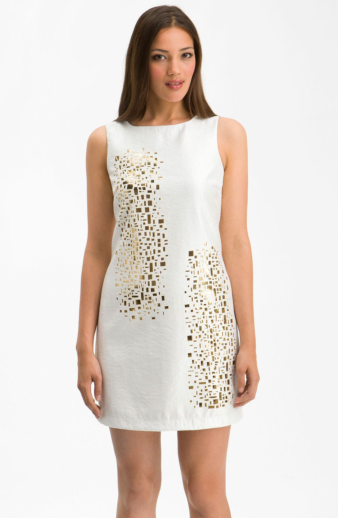 Alternate Image 1 Selected - Alexia Admor 'Mosaic' Cutout Shift Dress