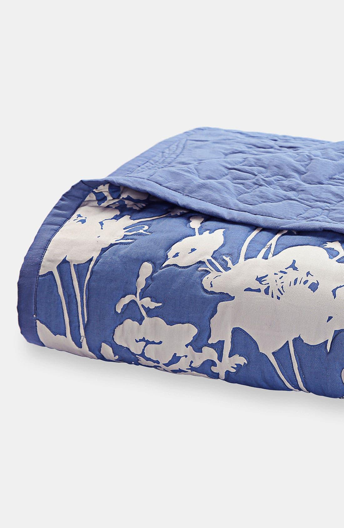 Alternate Image 1 Selected - kate spade new york 'floral' quilt
