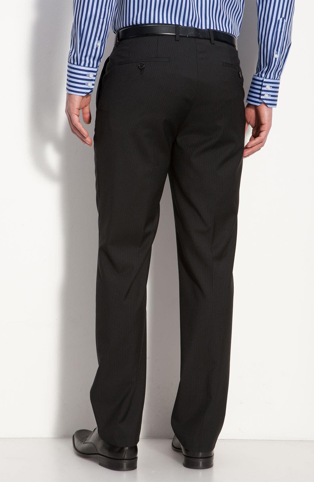 Alternate Image 5  - BOSS Black 'James/Sharp' Trim Fit Wool Suit