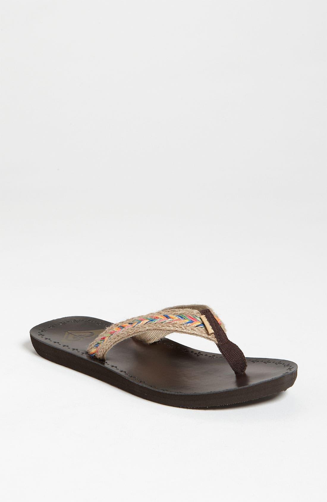 Alternate Image 1 Selected - Roxy 'Fiji' Flip Flop