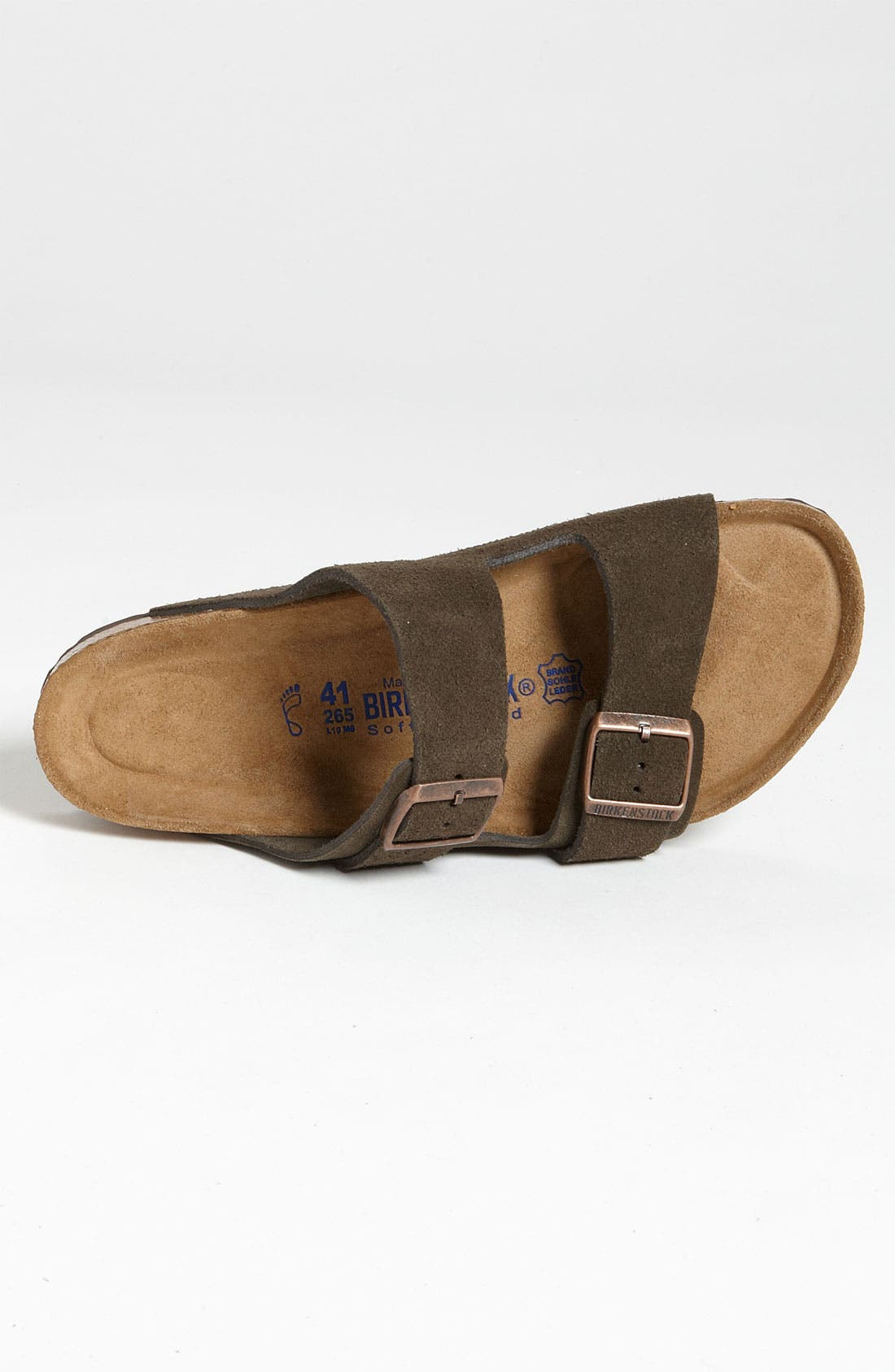 Alternate Image 3  - Birkenstock 'Arizona Soft' Slide   (Men)
