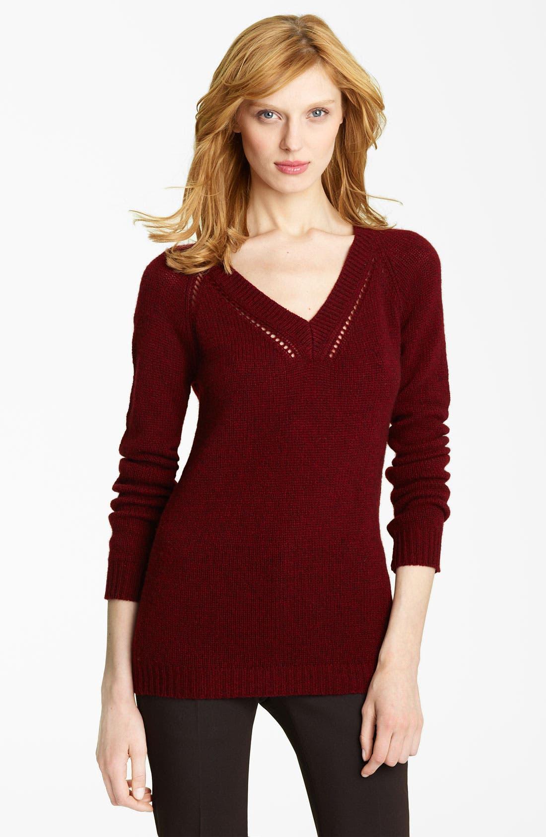 Alternate Image 1 Selected - Burberry Prorsum Cashmere Sweater
