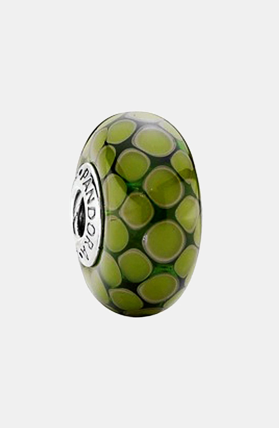 Alternate Image 1 Selected - PANDORA 'Exotic' Large Murano Glass Charm