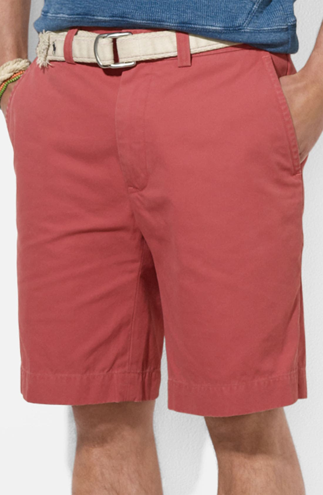 Alternate Image 1 Selected - Polo Ralph Lauren 'G.I.' Classic Fit Shorts