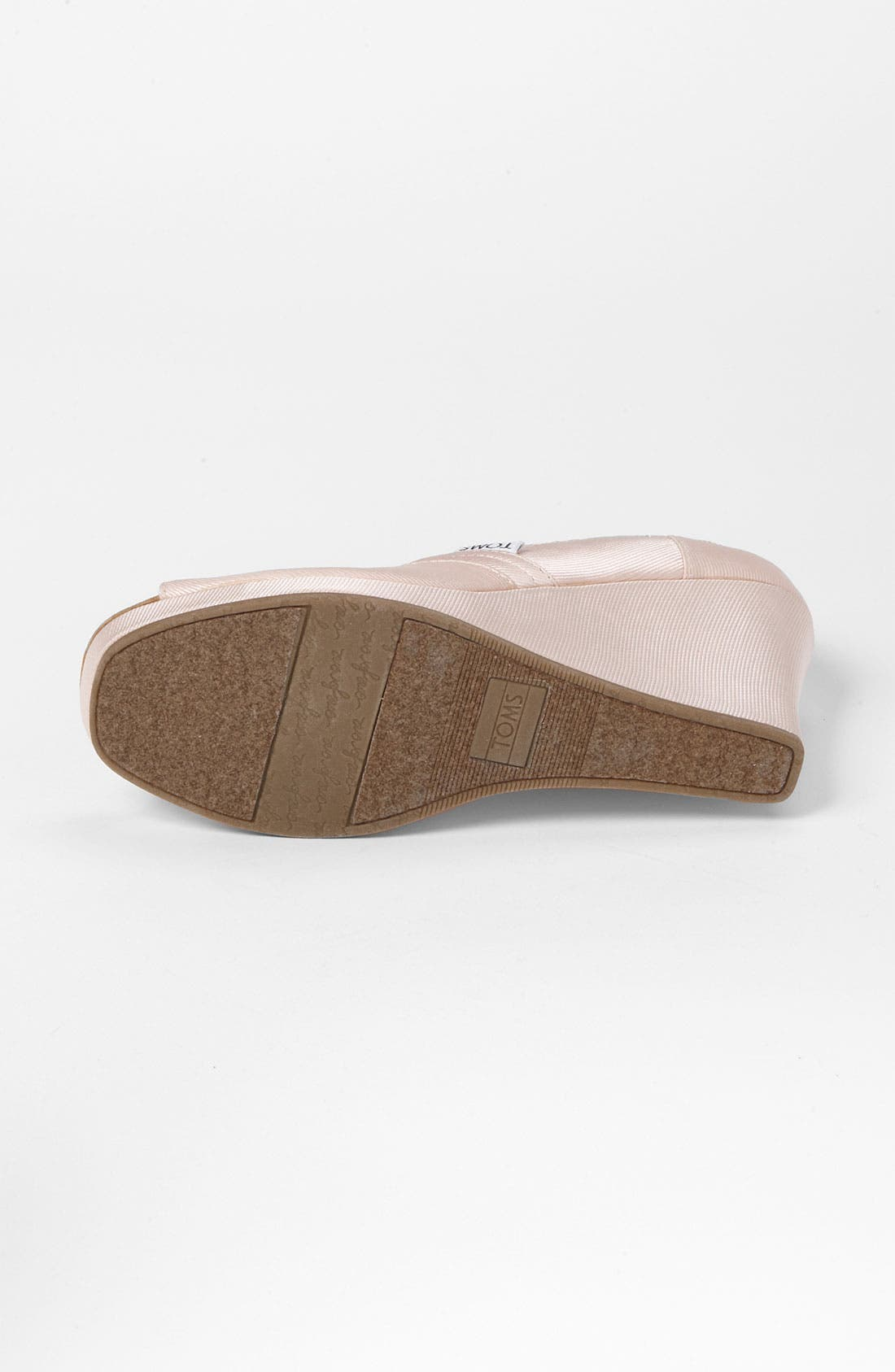 Alternate Image 4  - TOMS Grosgrain Wedge (Women)