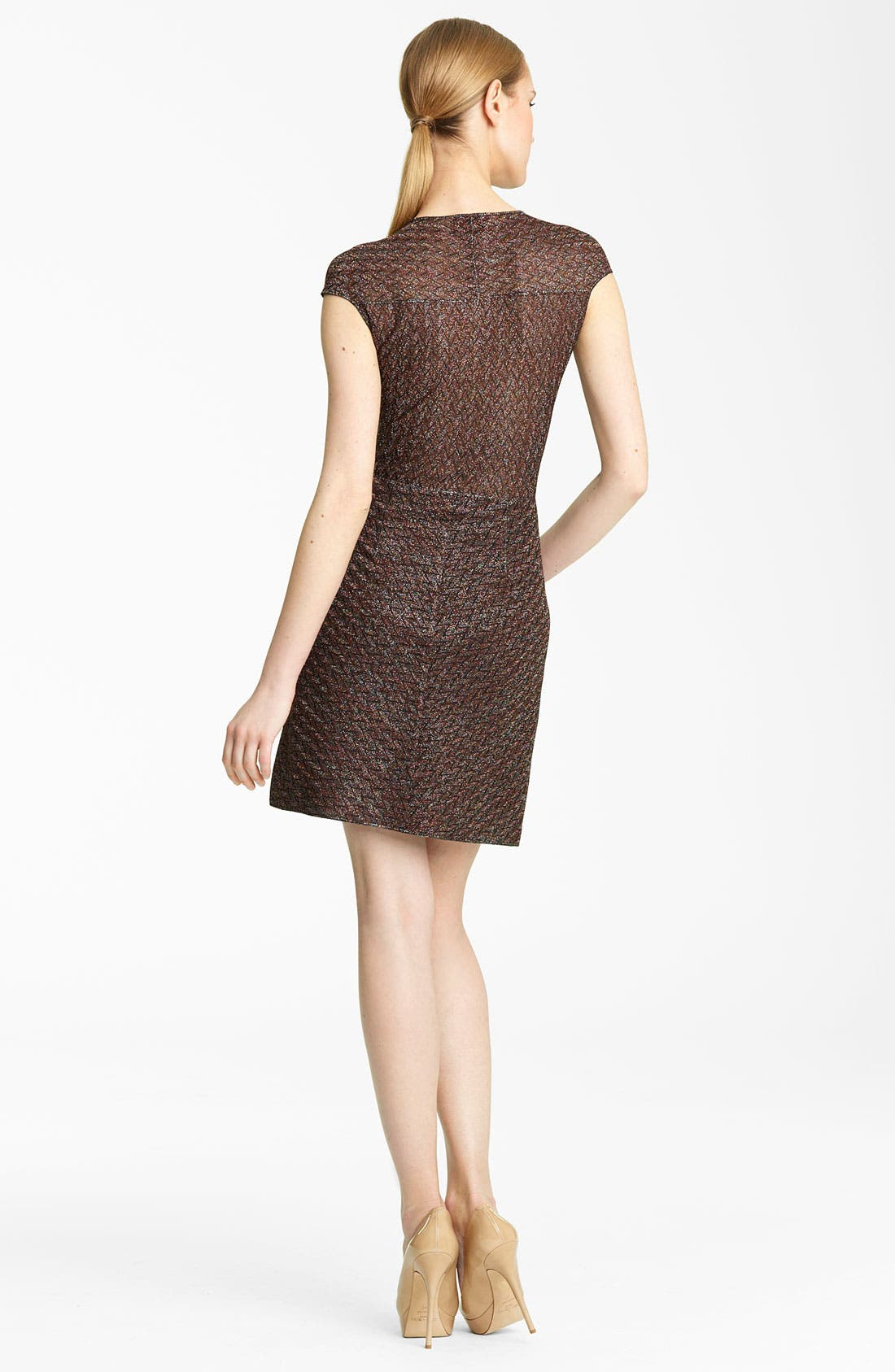 Alternate Image 2  - Missoni Metallic Knit Dress