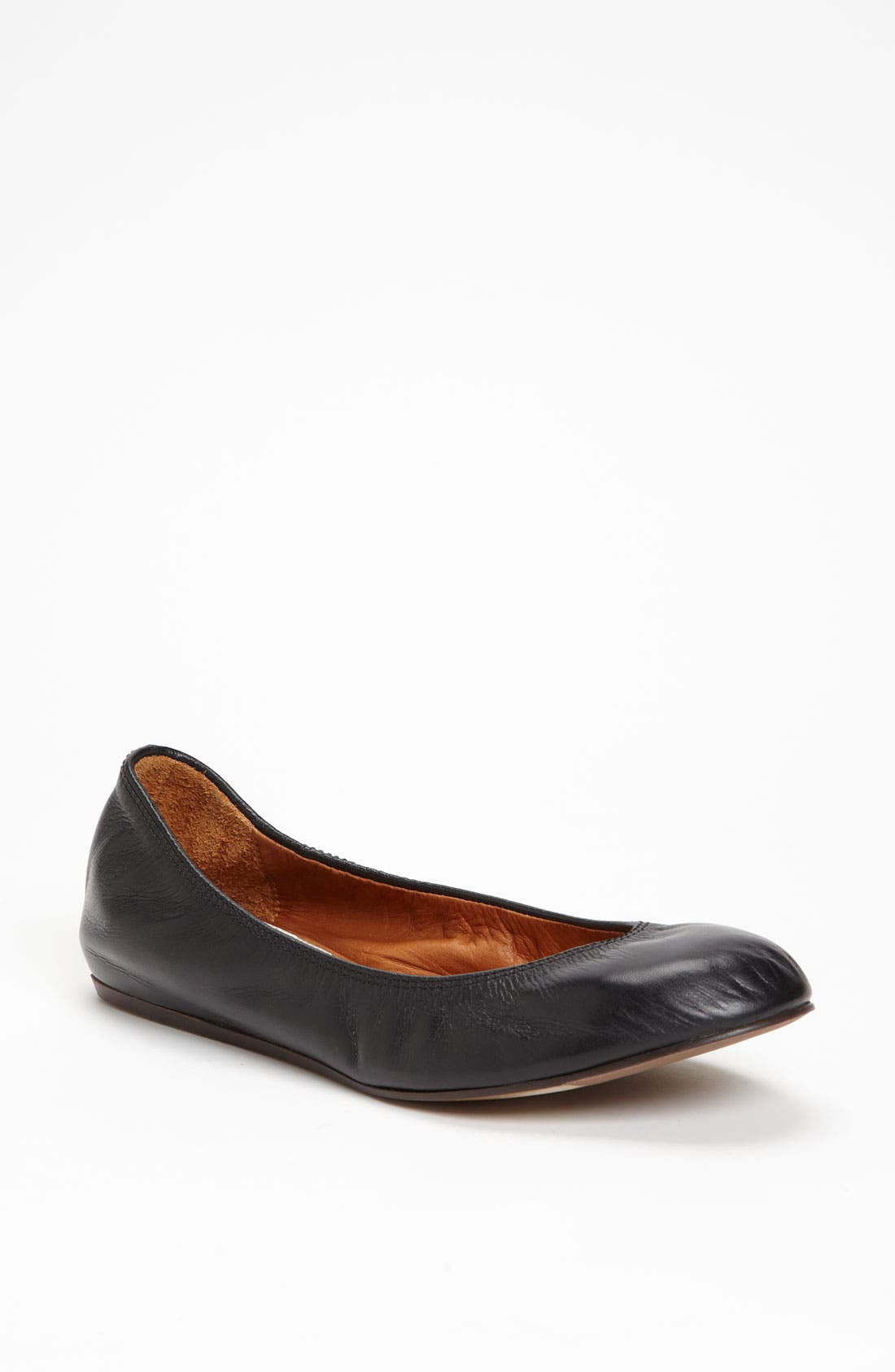 Alternate Image 1 Selected - Lanvin Leather Ballerina Flat