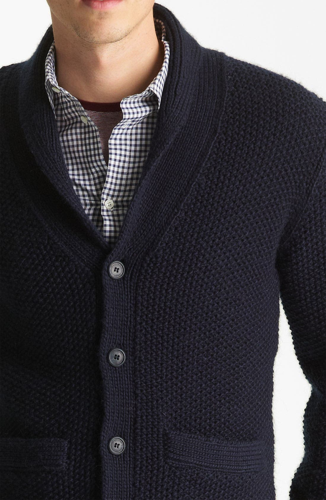 Alternate Image 3  - A.P.C. Shawl Collar Cardigan