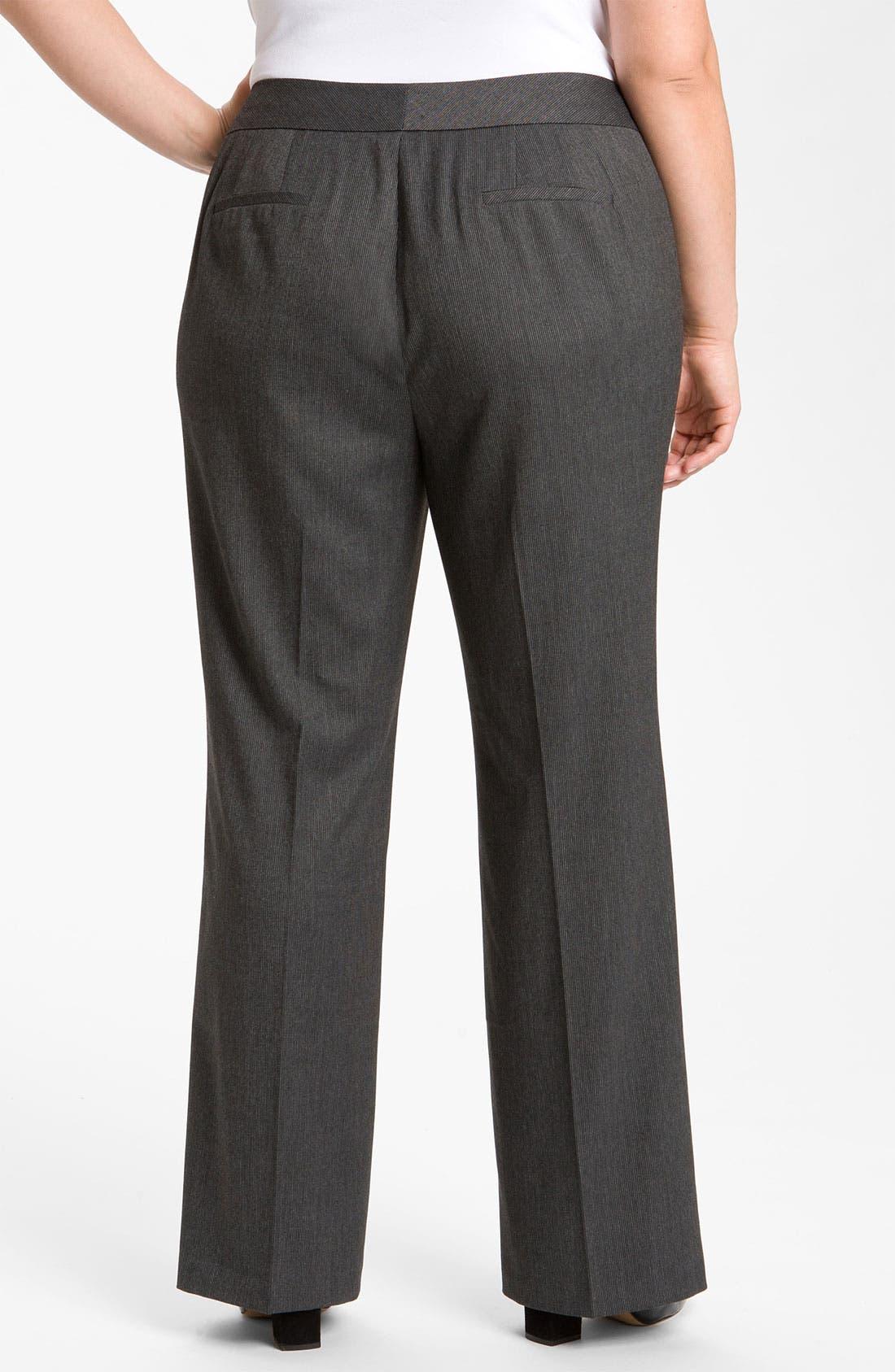 Alternate Image 2  - Sejour Suit Trousers (Plus)