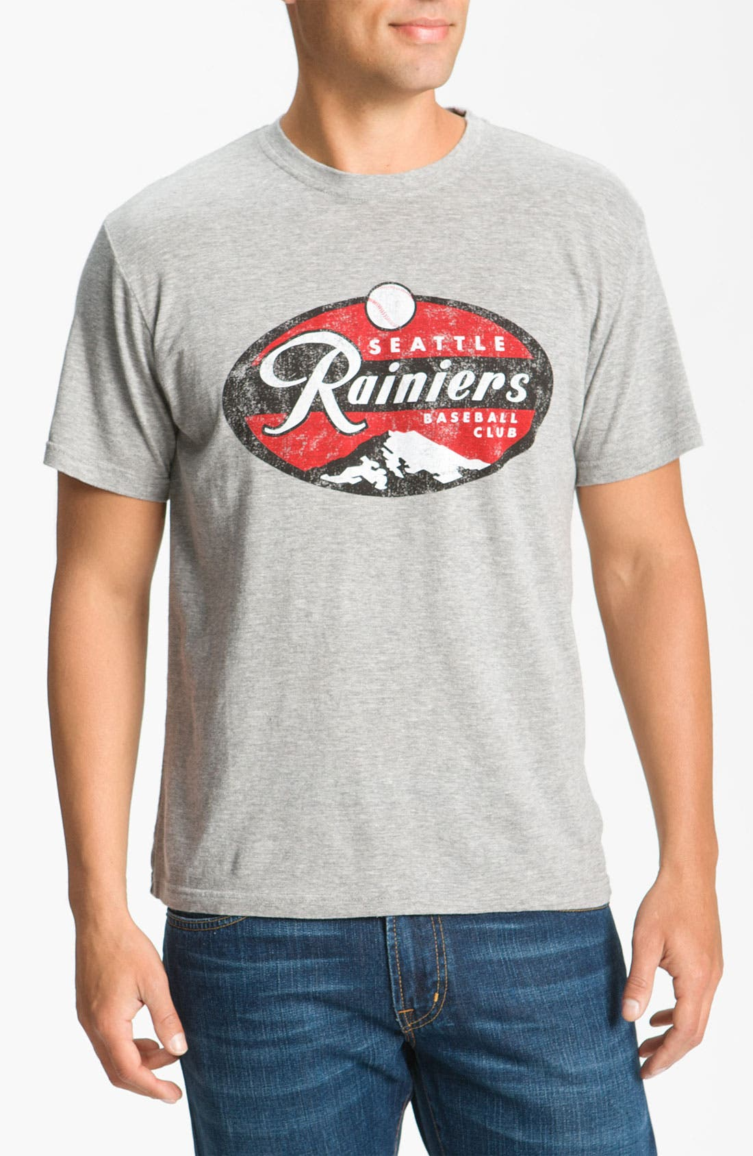 Alternate Image 1 Selected - Red Jacket 'Seattle Rainiers - Brass Tack' T-Shirt