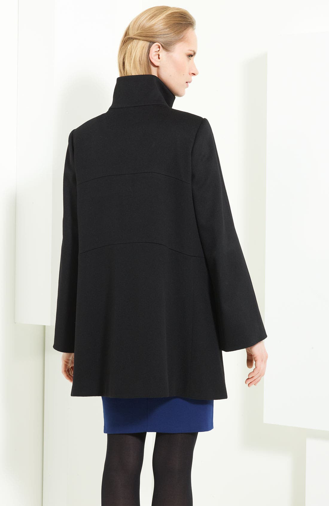 Alternate Image 2  - Armani Collezioni Wool Caban Coat