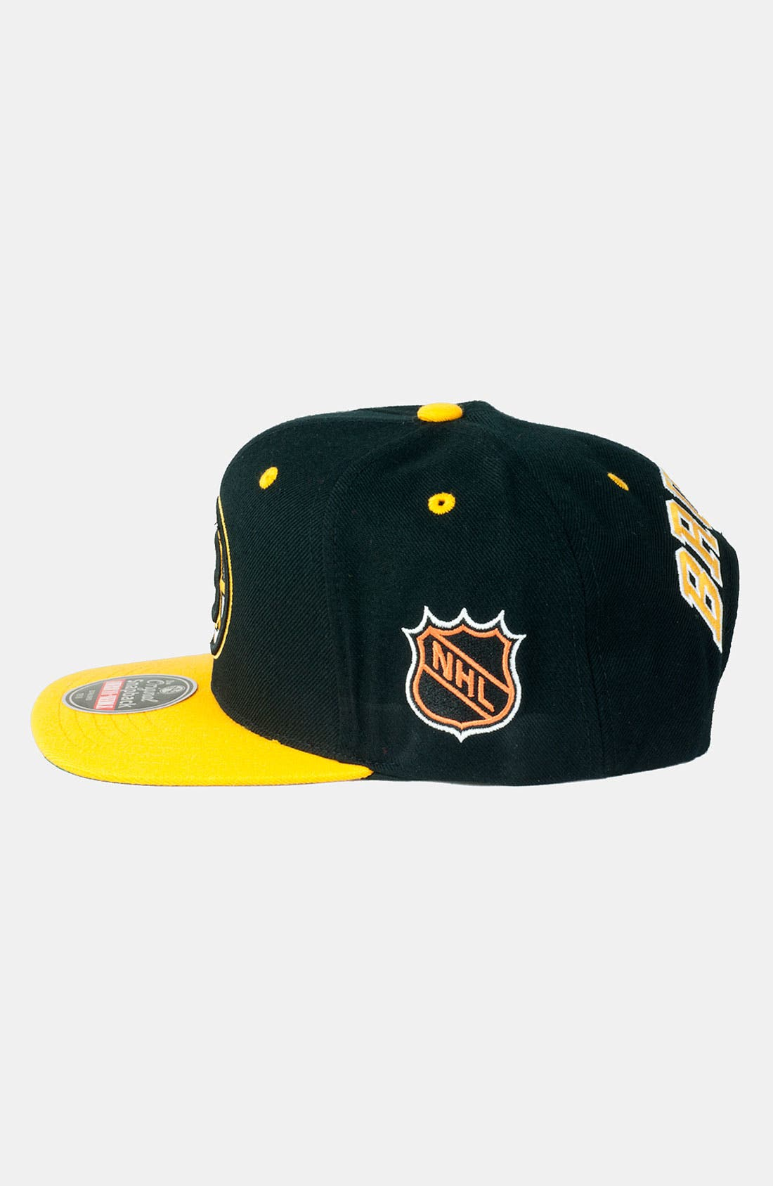 Alternate Image 2  - American Needle 'Bruins - Blockhead' Snapback Baseball Cap