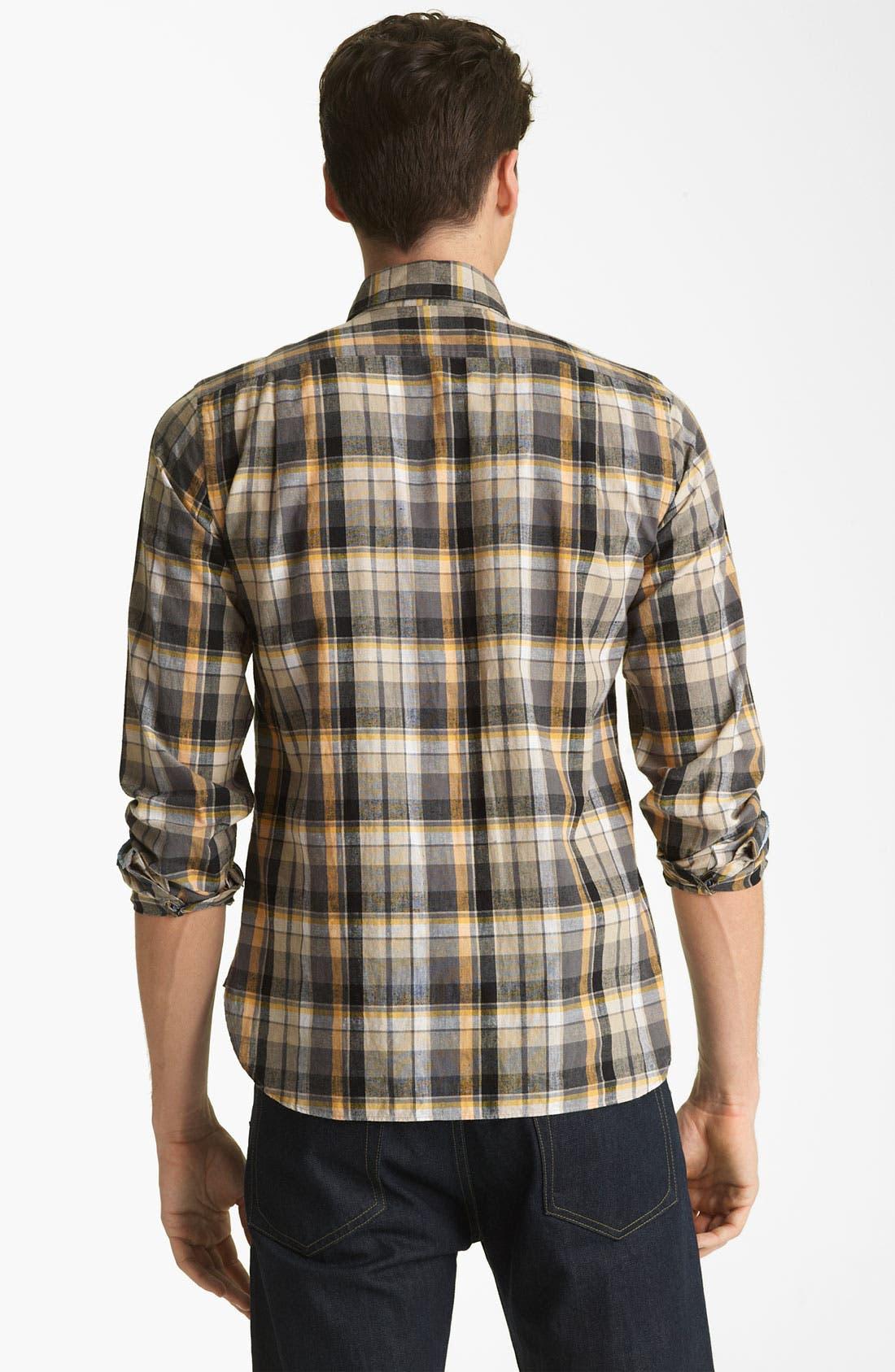 Alternate Image 2  - Shipley & Halmos 'Marine' Washed Woven Shirt