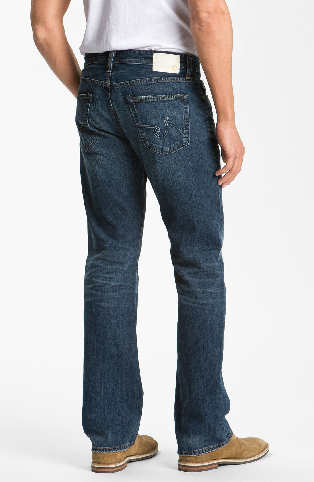 Alternate Image 2  - AG Jeans 'Protégé' Straight Leg Jeans (5 Year Overdyed)