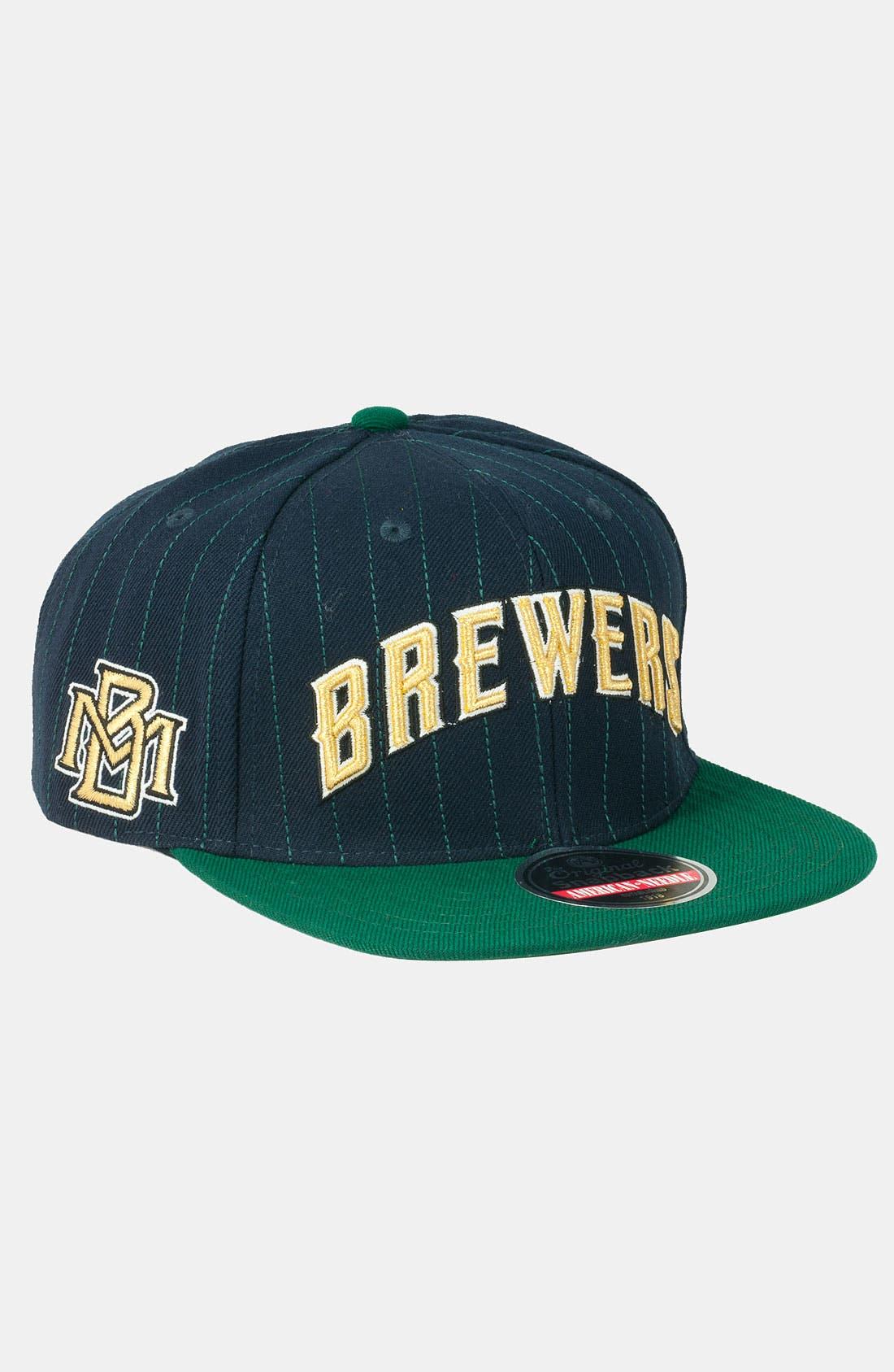 Alternate Image 1 Selected - American Needle 'Brewers' Snapback Baseball Cap