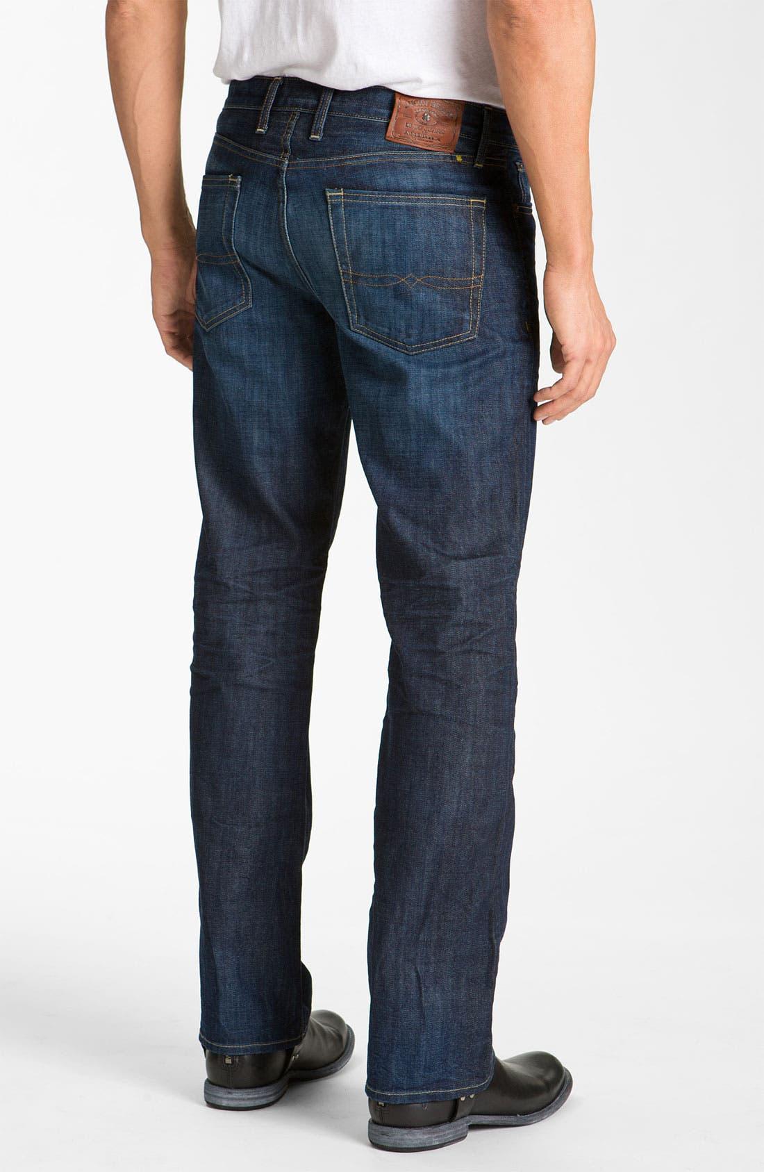 Alternate Image 2  - Lucky Brand '361 Vintage' Straight Leg Jeans (Dark Creek)