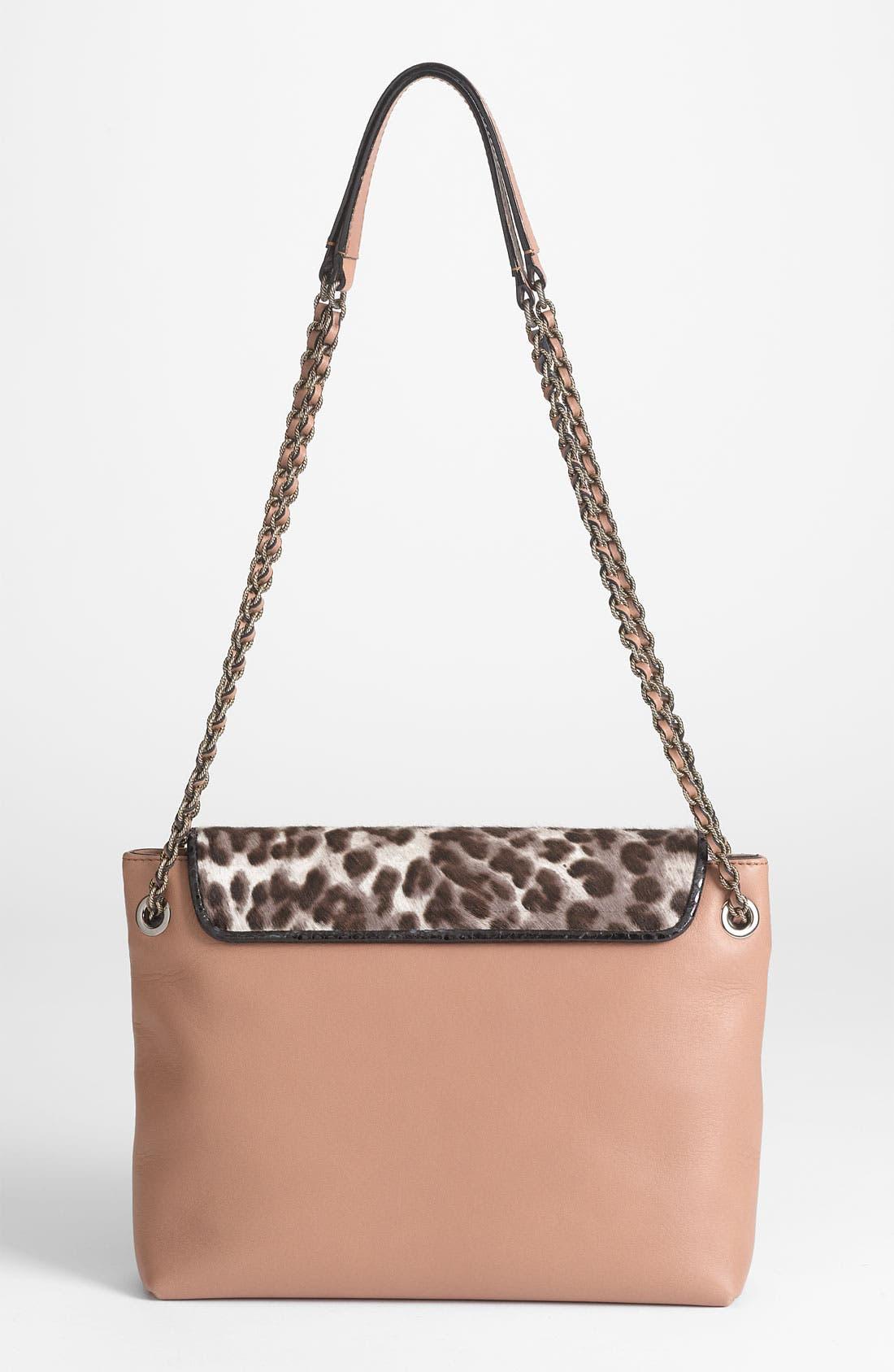 Alternate Image 4  - MARC JACOBS 'Safari - Large Single' Leather & Calf Hair Shoulder Bag