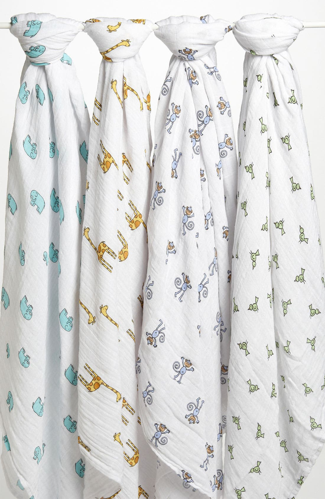 Alternate Image 1 Selected - aden + anais Set of 4 Classic Swaddling Cloths