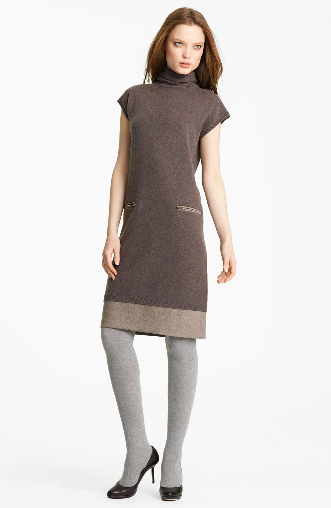 Alternate Image 1 Selected - Fabiana Filippi Wool Blend Dress