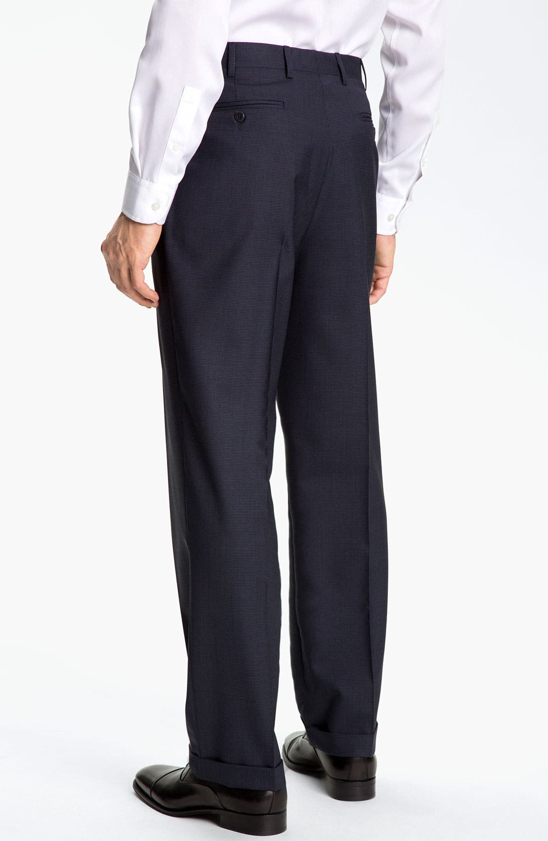 Alternate Image 2  - Zanella 'Bennett' Pleated Trousers