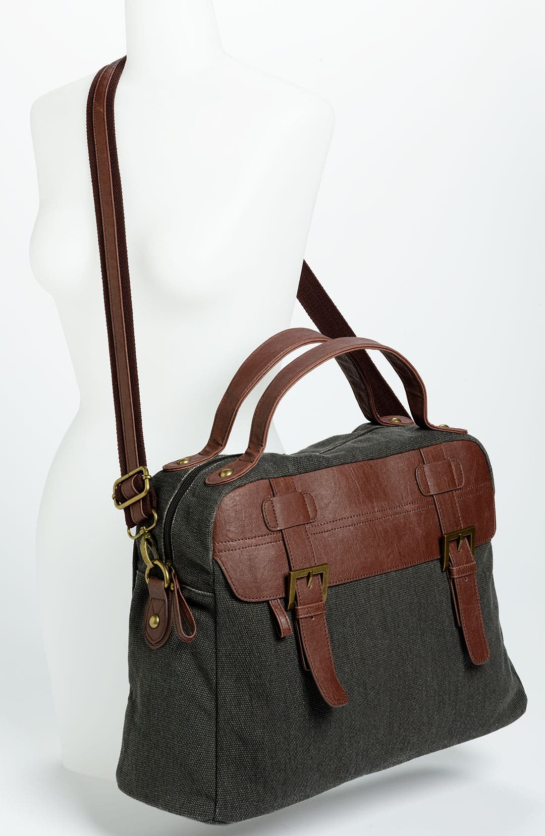 Alternate Image 2  - BP. Canvas & Faux Leather Tote