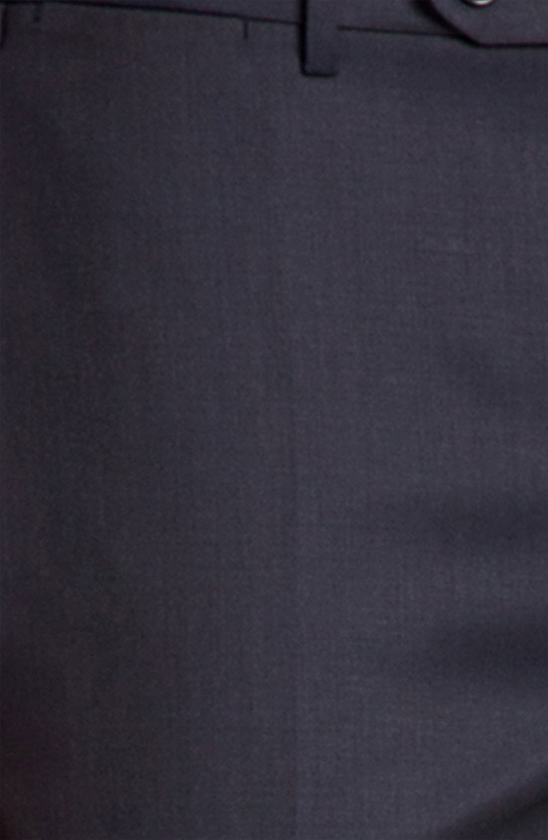 Alternate Image 3  - Canali Flat Front Trousers