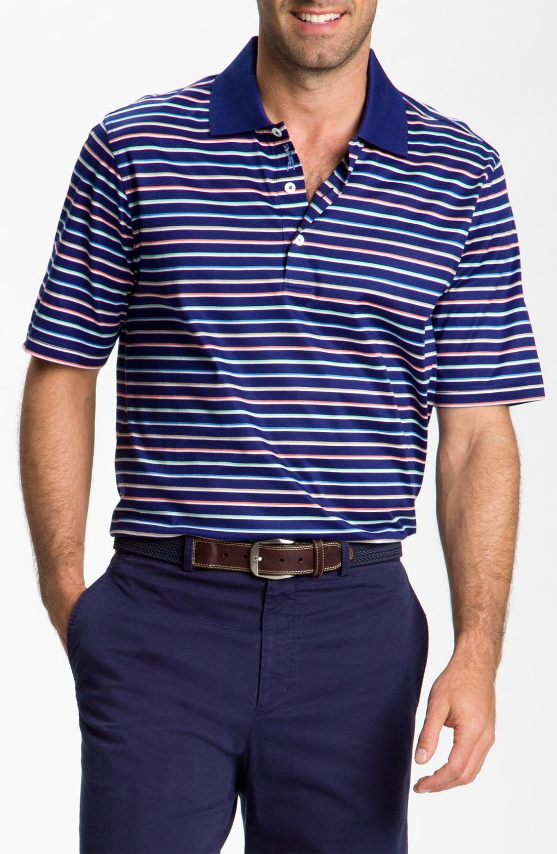 Alternate Image 1 Selected - Bobby Jones Stripe Polo