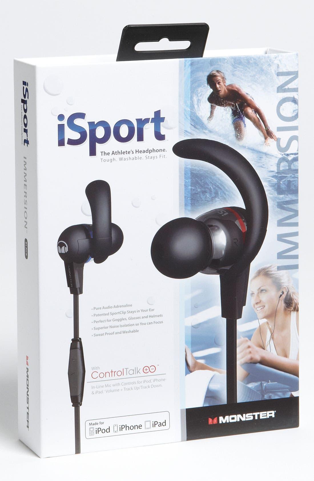 Alternate Image 2  - Monster 'iSport Immersion' Headphones