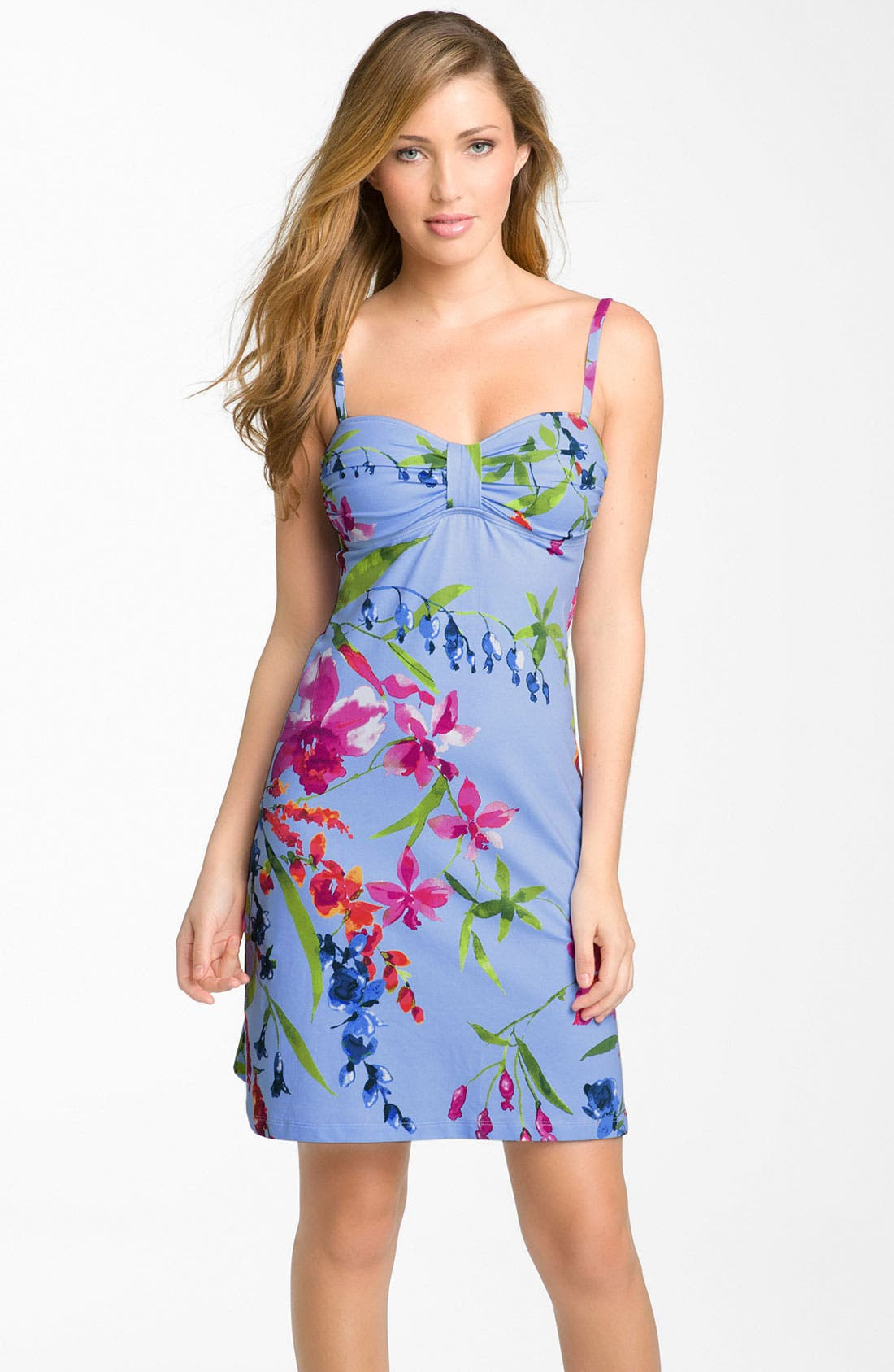 Alternate Image 1 Selected - Tommy Bahama Floral Cover-Up Dress