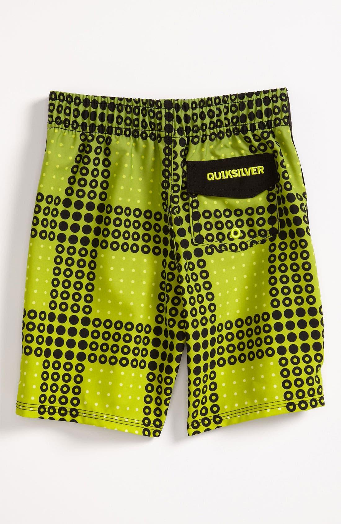 Alternate Image 2  - Quiksilver 'Inverse' Board Shorts (Toddler)