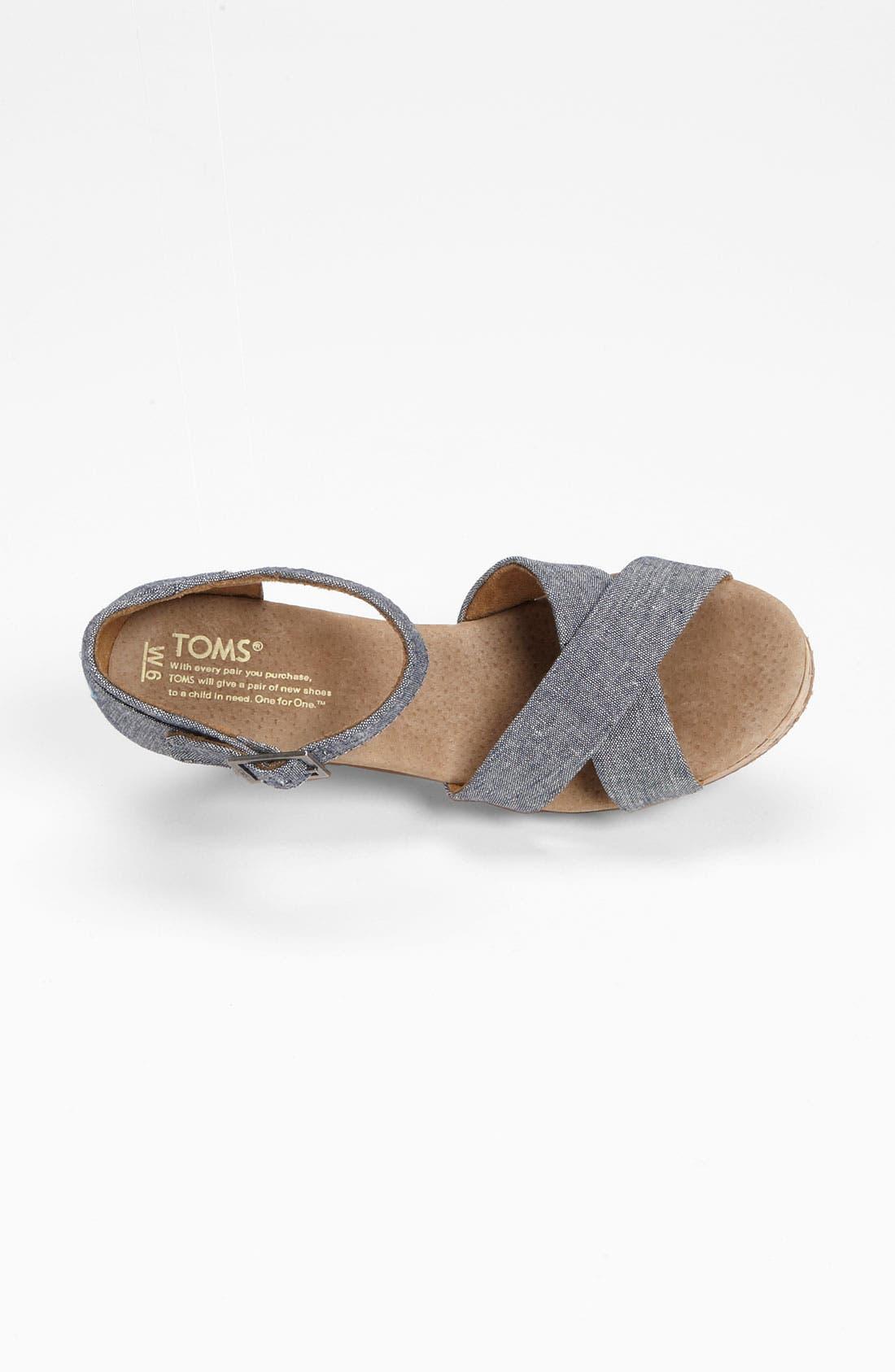 Alternate Image 3  - TOMS 'Sofie' Sandal