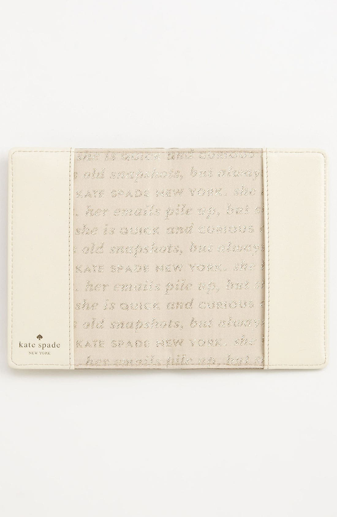 Alternate Image 3  - kate spade new york 'harrison street' metallic passport case
