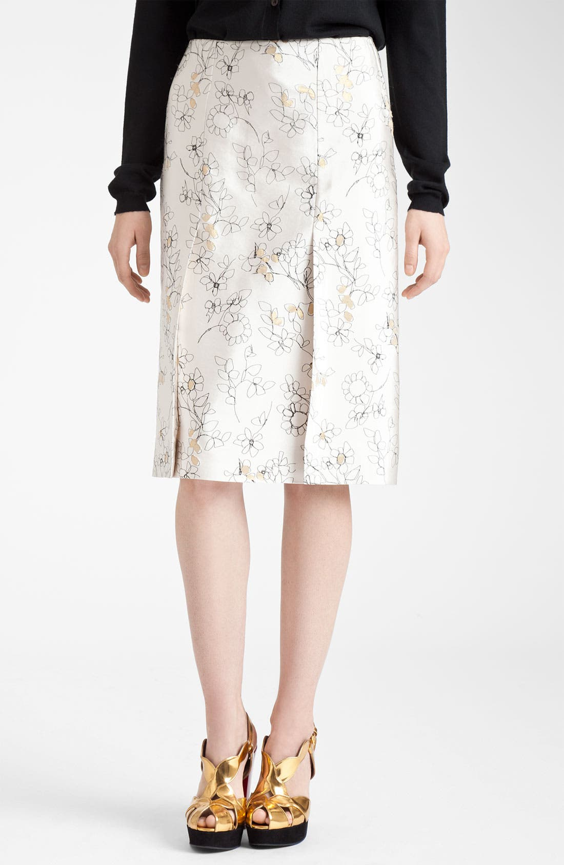 Alternate Image 1 Selected - Marni Floral Print Skirt