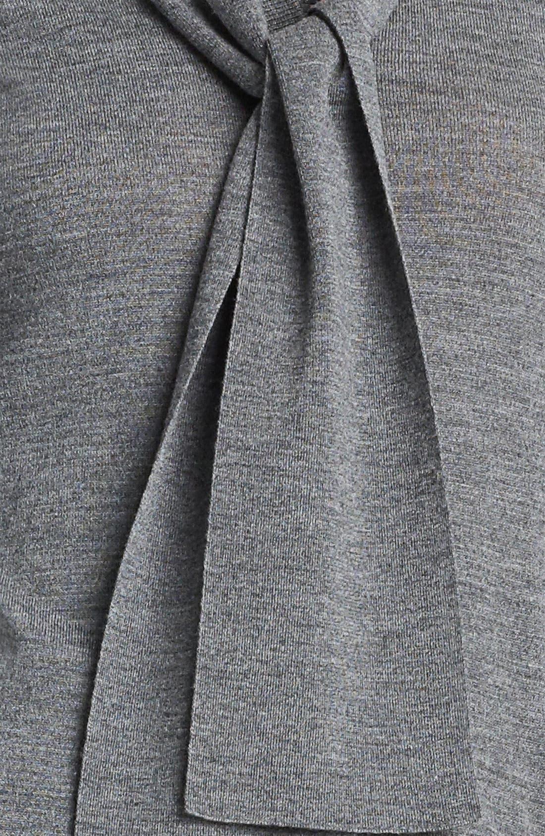 Alternate Image 3  - Dolce&Gabbana Tie Neck Cardigan